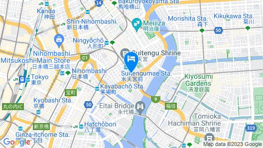 Royal Park Hotel Tokyo Nihonbashi Map