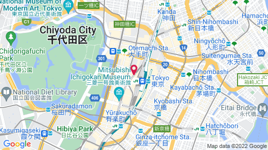 The Tokyo Station Hotel Map