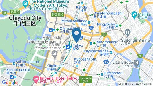 Oakwood Premier Tokyo Map