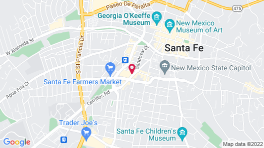 Santa Fe Motel & Inn Map