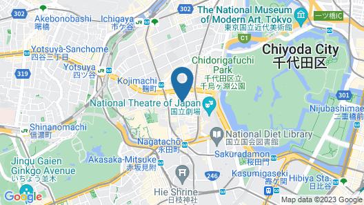 APA Hotel Hanzomon Hirakawacho Map
