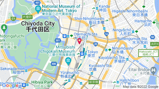 Marunouchi Hotel Map