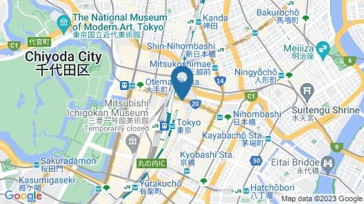 Hotel Metropolitan Tokyo Marunouchi Map