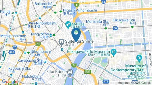 HAMACHO HOTEL TOKYO NIHONBASHI Map