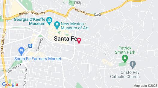 Inn on the Alameda Map