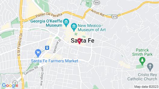 El Sendero Inn, Ascend Hotel Collection Map