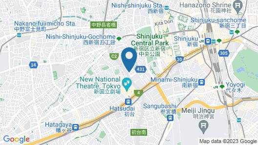 STUDIO INN NISHISHINJUKU Map