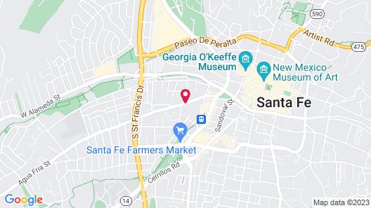 Guadalupe Inn Map