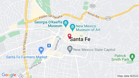 Hotel St Francis Map