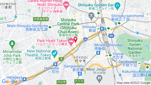 Sun Members Tokyo Shinjuku Map