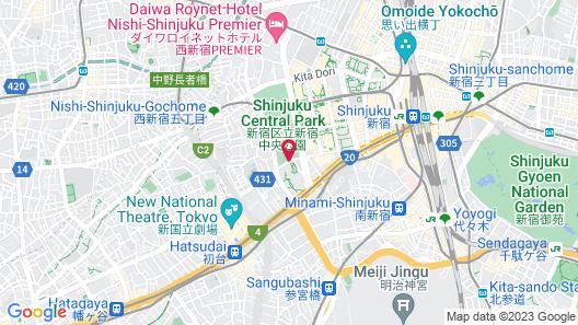 Park Hyatt Tokyo Map