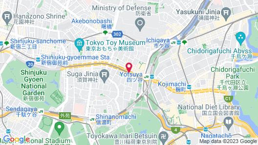 Tokyu Stay Yotsuya Map
