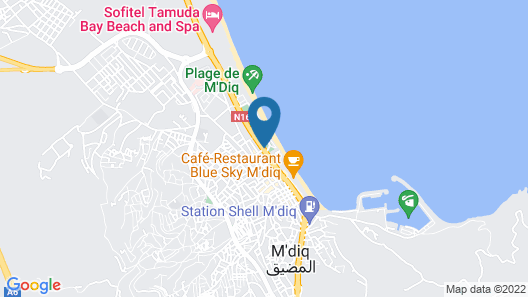 Résidence Almina Map