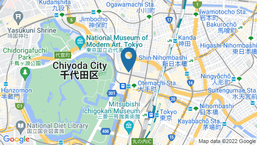 Four Seasons Hotel Tokyo at Otemachi Map