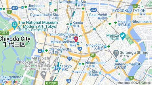 Mandarin Oriental Tokyo Map