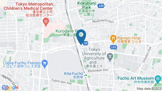 Hotel Livemax Kita Fuchu Map