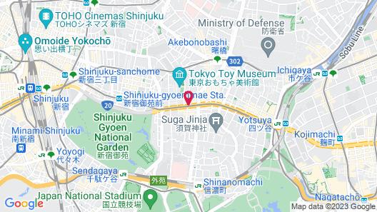 Yotsuya Sanchome Map