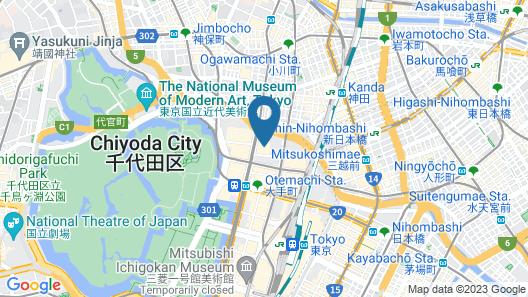 HOSHINOYA Tokyo Map