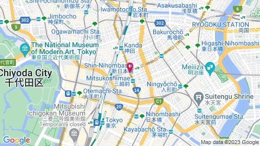 Mitsui Garden Hotel Nihonbashi Premier Map