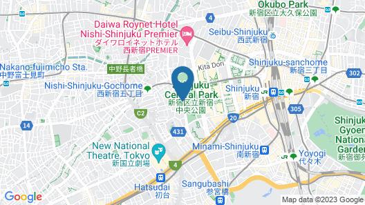 THE KNOT TOKYO Shinjuku Map