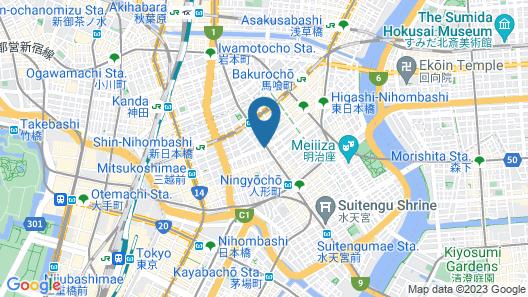Hotel Horidome Villa Map