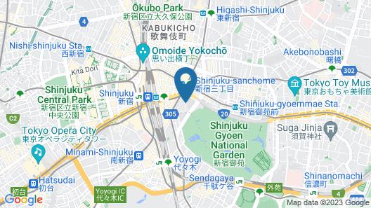 Hotel&Co. Sagami Map
