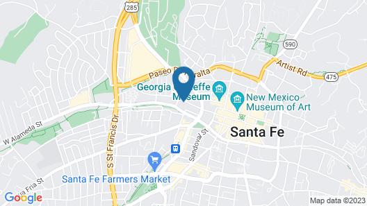 Las Palomas Map