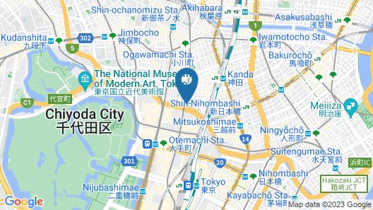 Mitsui Garden Hotel Otemachi Map