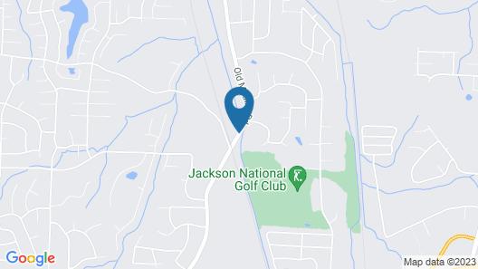 Residence Inn Jackson Map