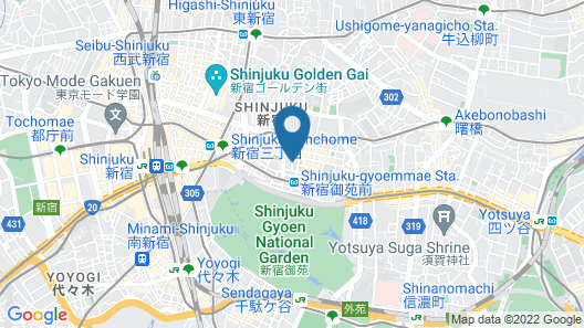 City Hotel N.U.T.S. Map
