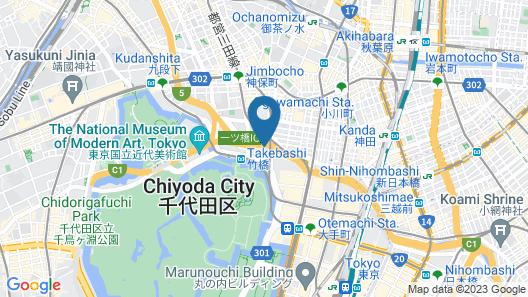 KKR Hotel Tokyo Map