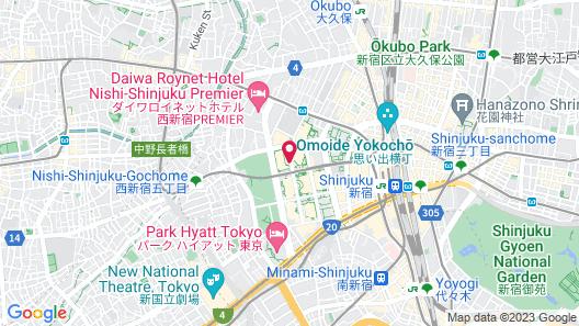 Hyatt Regency Tokyo Map