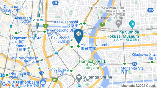 APA Hotel Higashi-Nihombashi-Ekimae Map