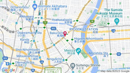 APA Hotel Nihombashi Bakurocho-Ekimae Map