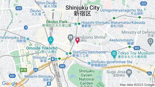 Via Inn Shinjuku Map