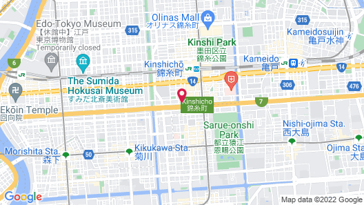 Hotel Bali An Resort Kinshicho - Adults Only Map