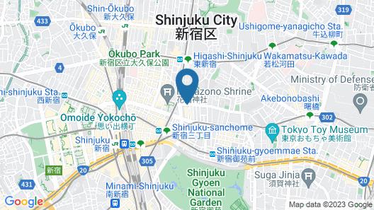 IMANO TOKYO HOSTEL Map