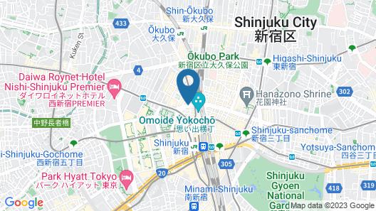 ibis Tokyo Shinjuku Map