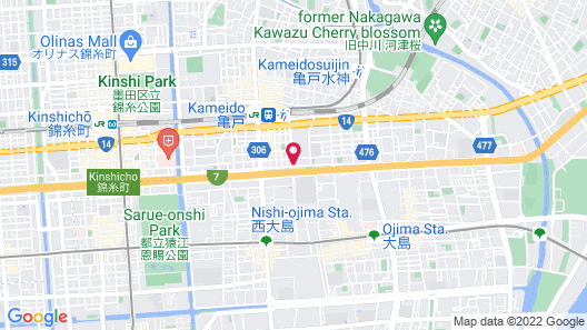 Hotel MyStays Kameido Map