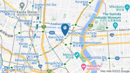 LY INN Tokyo Nihonbashi Map