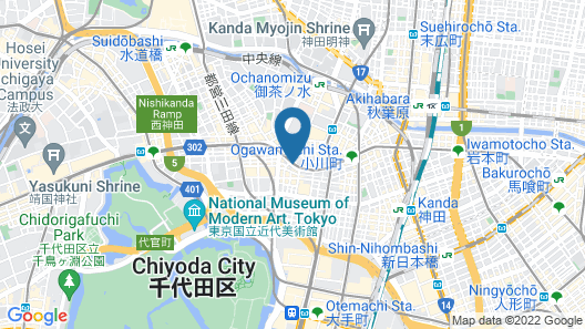 APA Hotel Kanda-Jimbocho-Ekihigashi Map