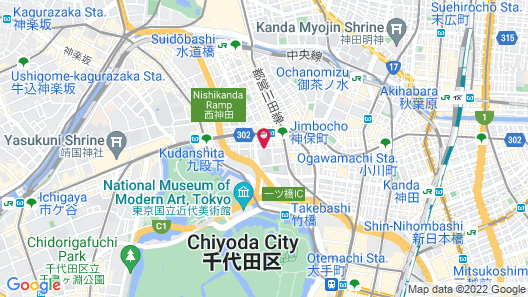 Sakura Hotel Jimbocho Map
