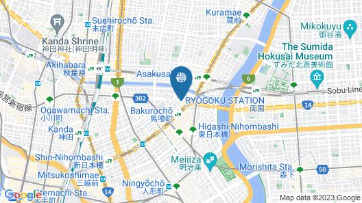 DDD HOTEL Map