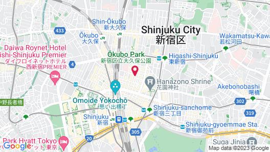 APA Hotel Shinjuku Kabukicho Chuo Map