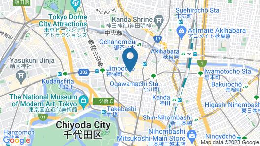 Ochanomizu Hotel Shoryukan Map