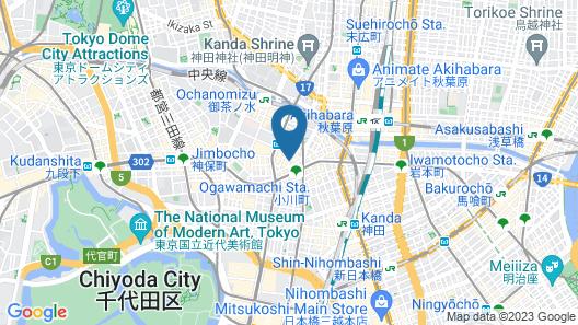 the b ochanomizu Map