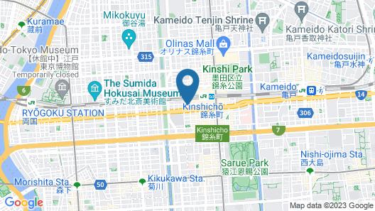 Asakusa Woody Sun Heim Map