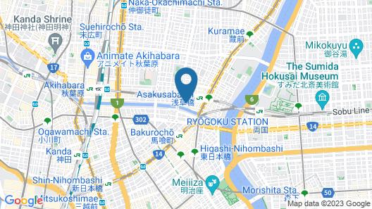 MONday Apart Premium Akihabara Asakusabashi Sta. Map
