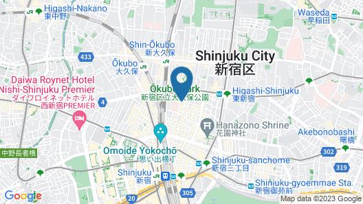 Premier Hotel-CABIN-Shinjuku Map
