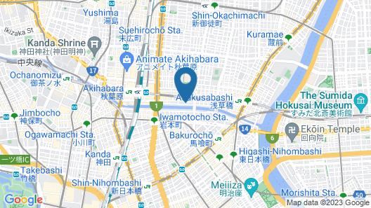 MONday Apart Premium Akihabara Map